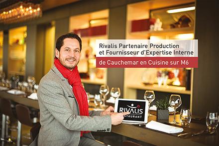 Rivalis, expert choisi par M6 dans l'émission Cauchemar en Cuisine